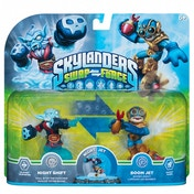 Night Shift & Boom Jet (Skylanders Swap Force) Double Swappable Character Pack