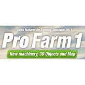 Pro Farm 1 Farming Simulator 2011 Expansion Pack PC CD Key Download for Excalibur