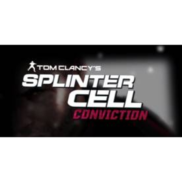 Tom Clancys Splinter Cell Conviction Game MAC