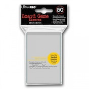 Ultra Pro Board Game Sleeves 50 Clear Case of 12