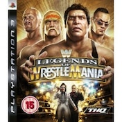 Ex-Display WWE Legends Of Wrestlemania Game PS3 Used - Like New