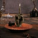 Brass Zombie Hand FCK Gesture Candle - Image 5