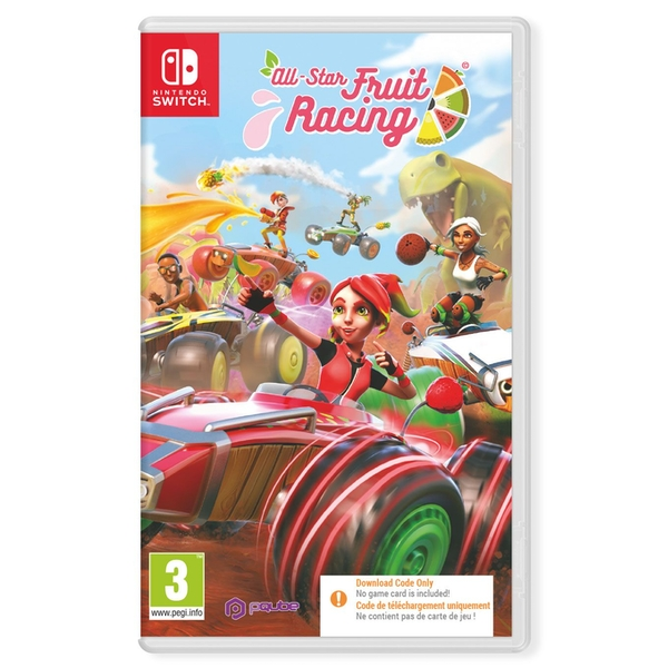 All-Star Fruit Racing Nintendo Switch Game [Code in a Box]