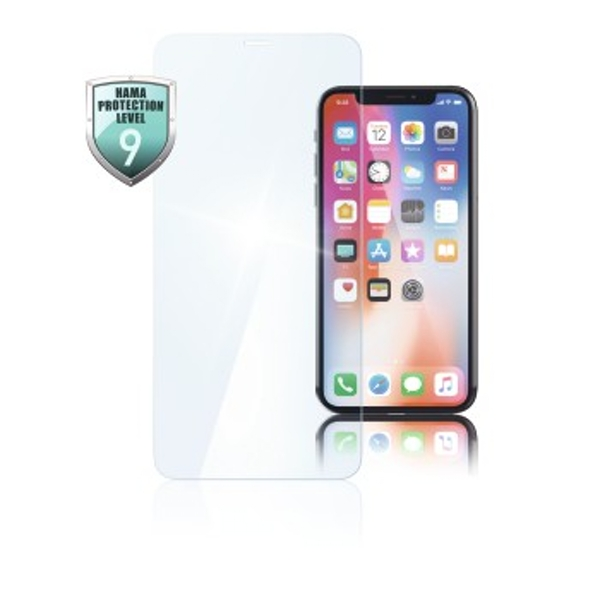 Hama Premium Crystal Glass Screen Protector for Apple iPhone XS Max Pack of 1