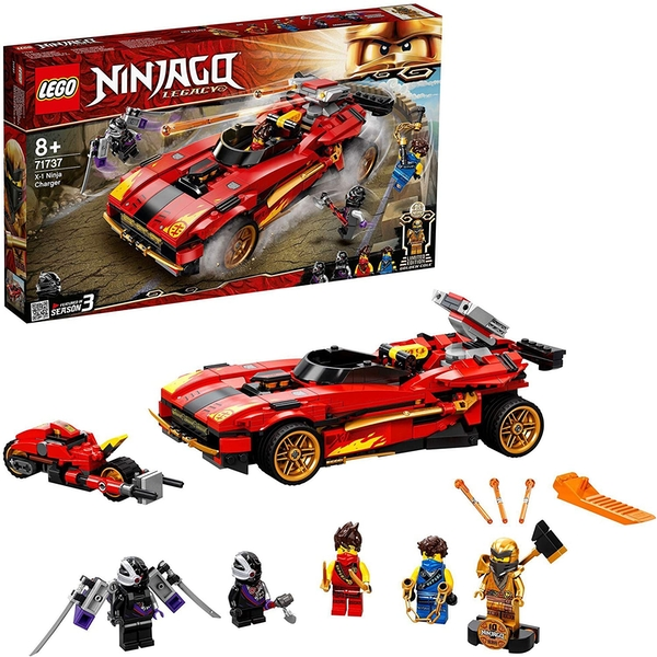 Lego Ninjago Legacy X Ninja Charger Construction Set