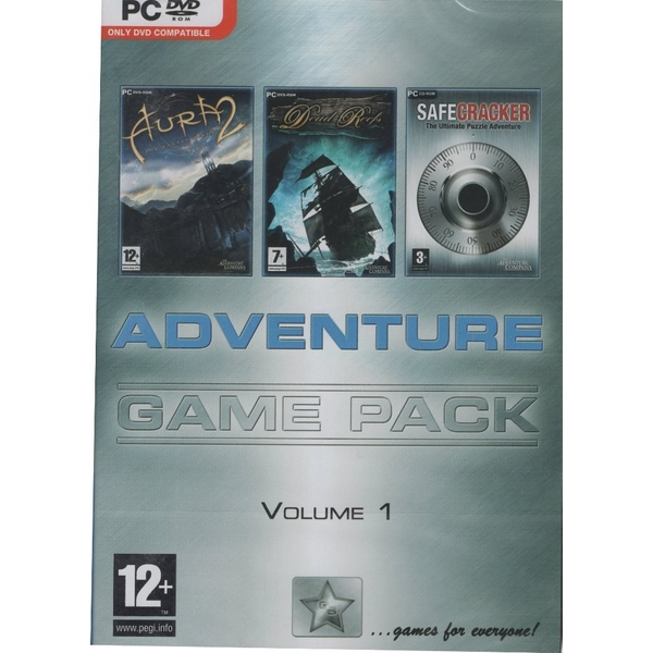 Image of Adventure Game Pack Volume 1 (Aura 2, Dead Reefs, Safecracker) [PC]