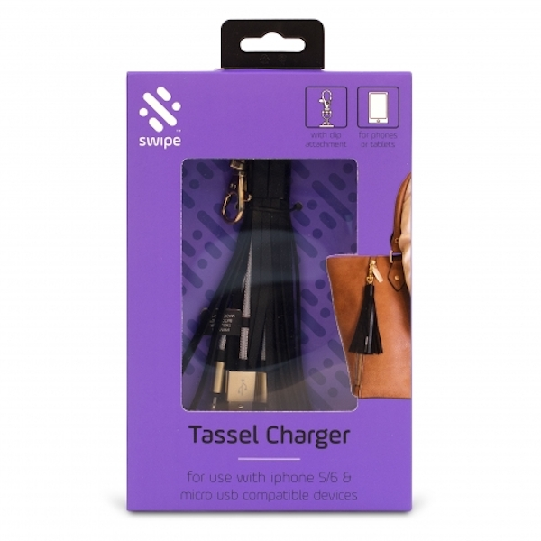 Thumbs Up! Tassel Charging Cable