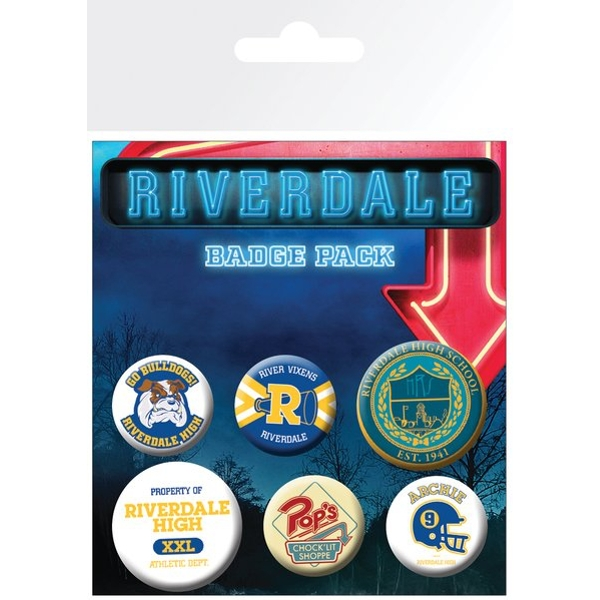 Riverdale Mix Badge Pack