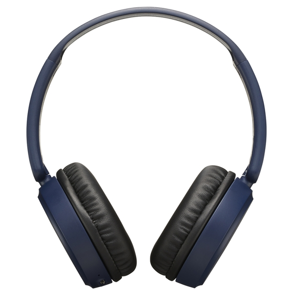 JVC HAS35BTAU Deep Bass Bluetooth On Ear Headphones - Blue