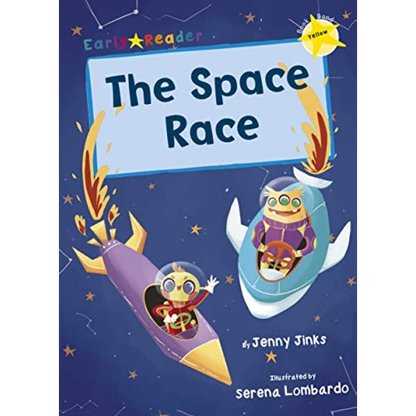 The Space Race (Yellow Early Reader)  Paperback / softback 2018