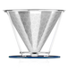 Pour Over Coffee Reusable Dripper Filter | Stainless Steel | M&W - Image 7