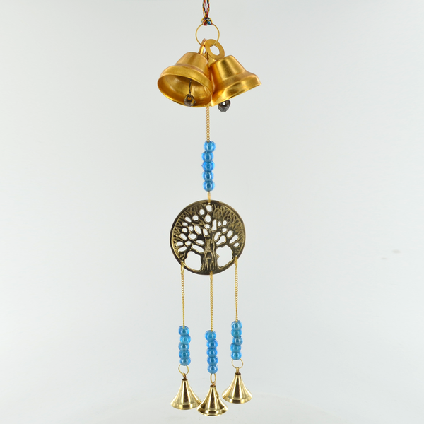 Hanging Bells Tree of Life Wall Hanging