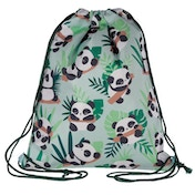 Handy Drawstring Bag - Fun Panda Design