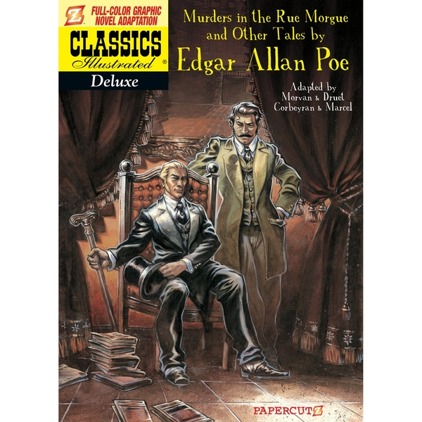 Classics Illustrated Deluxe 10 The Murders in the Rue Morgue and Other Tales