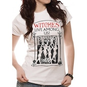 Fantastic Beasts - Witches Women's X-Large T-Shirt - White
