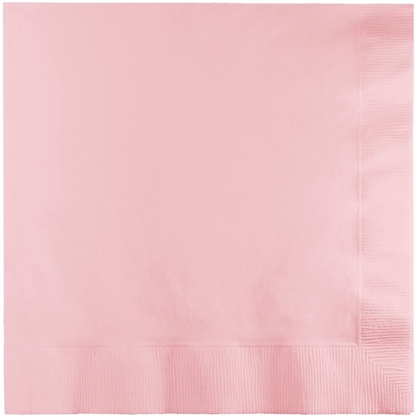 Lunch Paper Napkins (Classic Pink)
