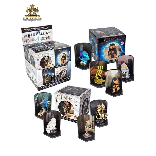 Harry Potter Magical Creatures Mystery Cube (1 Random Supplied) Noble Collection Replica