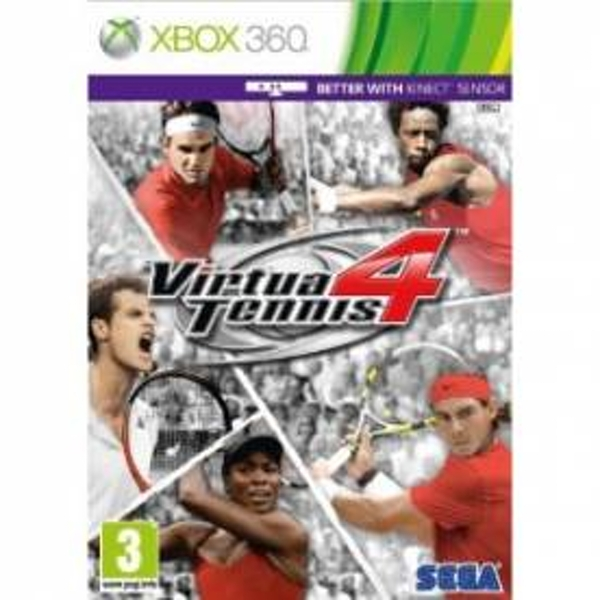 Virtua Tennis 4 Game Xbox 360