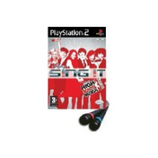 Disney Sing It High School Musical 3 Game + Microphones PS2