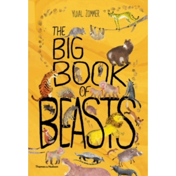 Big Book of Beasts by Yuval Zommer (Hardback, 2017)