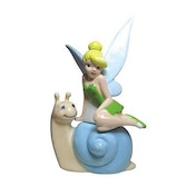 Disney Tinker Bell Tink's Snail Ride Salt and Pepper Shaker Set