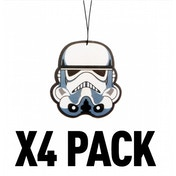 (4 Pack) Storm Trooper (Star Wars) Official Disney Car/Home Air Freshener