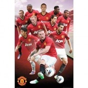Manchester United Players 12/13 Maxi Poster