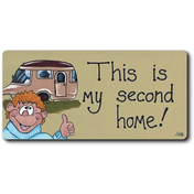 This Is My Second Home Smiley Magnet Pack Of 12