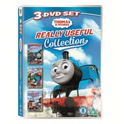 Thomas & Friends Really Useful Collection (Thomas in Charge!/Up, Up & Away!/Rescue on the Rails) DVD