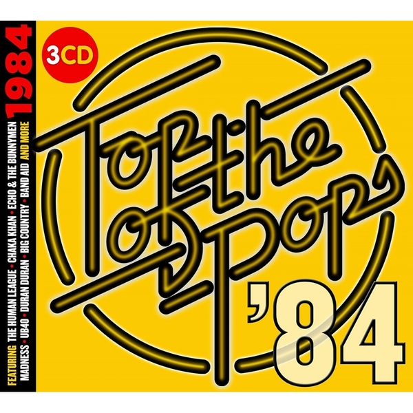 Various Artists - TOTP 1984 Music CD