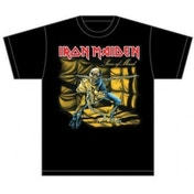 Iron Maiden Piece of Mind Mens T Shirt: Medium