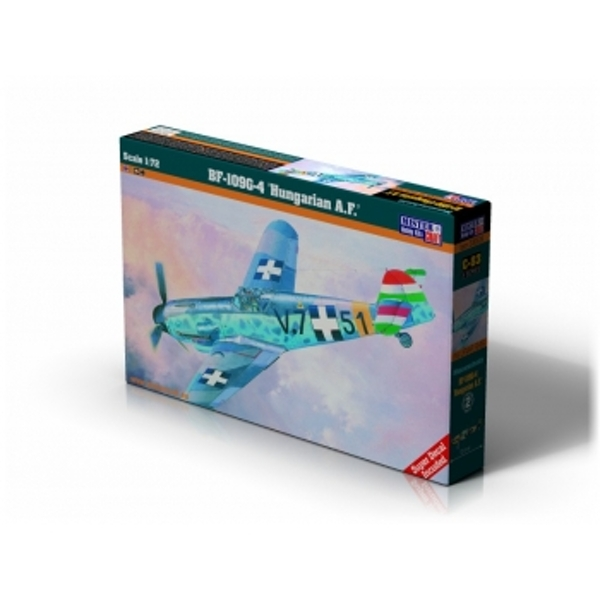 Me BF-109G-4 - Hungarian Air Force 1:72 MisterCraft Model