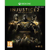 Injustice 2 Legendary Day One Edition Xbox One Game (Inc Steelbook)