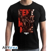 The Walking Dead - Eeny Meeny Men's Small T-Shirt - Black