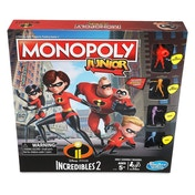 Disney The Incredibles Monopoly Junior Board Game