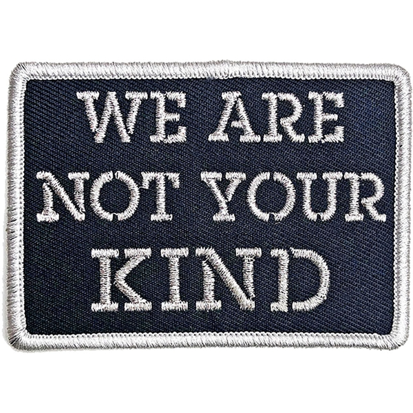 Slipknot - We Are Not Your Kind Stencil Standard Patch