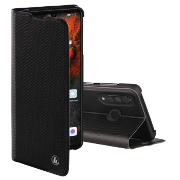 Slim Pro Wallet Case for Huawei P30 Lite Black