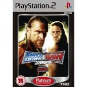 WWE Smackdown vs Raw 2009 Game (Platinum) PS2
