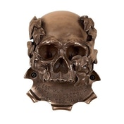 Beer Buddies Bronze Memento Mori Skull Wall Mounted Bottle Opener