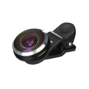 Hama Fish-Eye Lens for Smartphones and Tablets, 235°, Clip-On