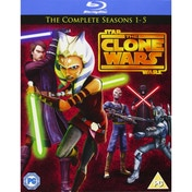 Star Wars Clone Wars Season 1-5 Blu-ray