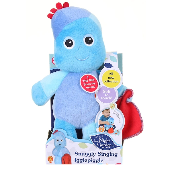 In the Night Garden Snuggly Singing Iggle Piggle Soft Toy