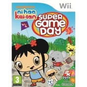 Ni Hao Kai Lan Super Game Day Game Wii