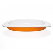 Koo-di Toddler First Plate Orange