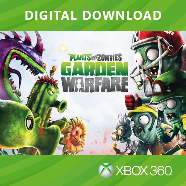 plants vs zombies garden warfare xbox 360 digital download - Plants Vs Zombies Garden Warfare Xbox 360