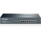 TP-LINK 8-Port Gigabit Unmanaged Desktop/Rackmount Switch, 8-Port PoE, Metal