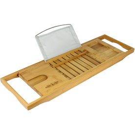 Extendable Bamboo Bath Caddy | M&W