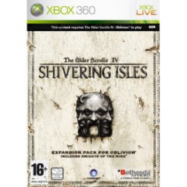 Elder Scrolls IV Oblivion The Shivering Isles Expansion Pack Game Xbox 360