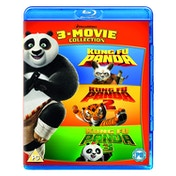 Kung Fu Panda: 3-Movie Collection (2018 Artwork Refresh) Blu-ray