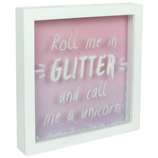 Roll Me In Glitter Box Frame